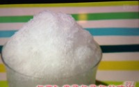 クミンのふわふわかき氷