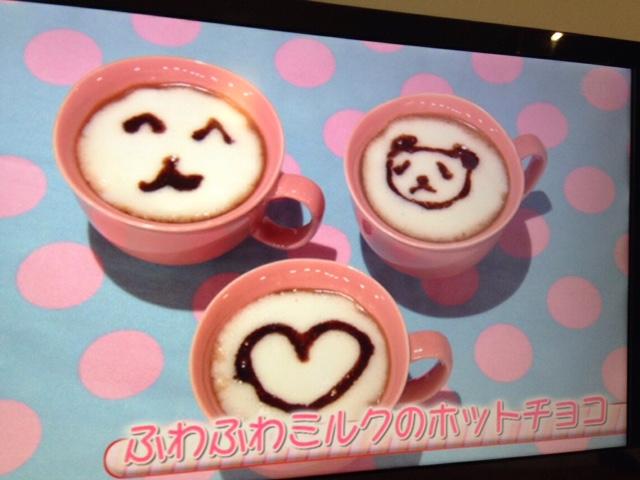 ふわふわミルクのホットチョコ【2/24(火)再放送】