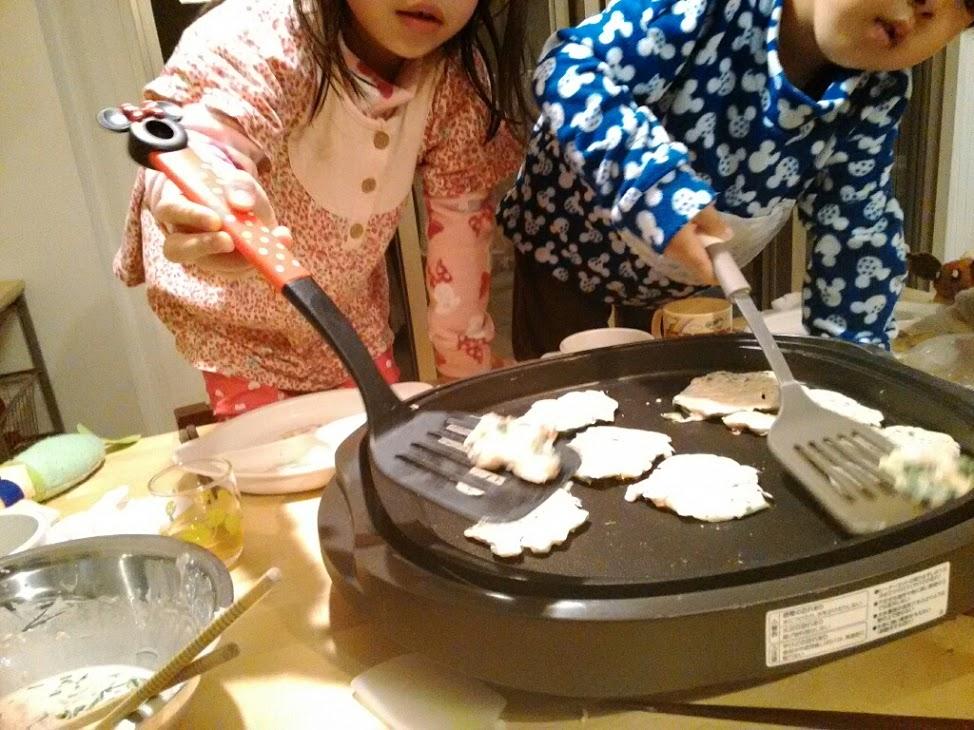 韓国風お好み焼きを作ってみた