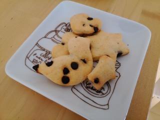 チョコチップクッキーを作ってみた!