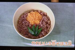 かわいい3色そぼろ丼[2016.6.22]