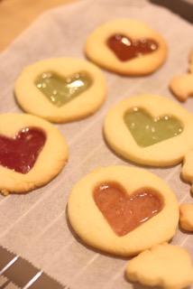 ステンドグラス風クッキー