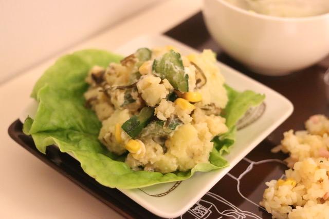和風ポテトサラダを作ってみた!