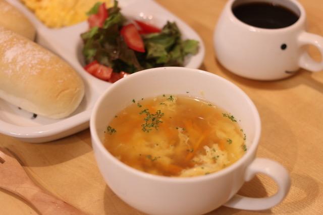 たまごと野菜の洋風スープを作ってみた!