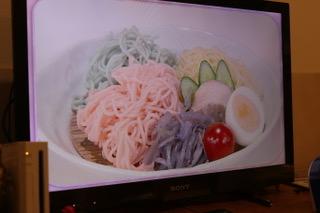 カラフル3色つけ麺[2017.9.1]