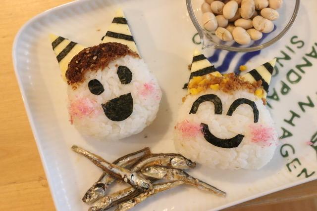 節分料理:10分でできる鰯(いわし)の蒲焼きの作り方とレシピ☆鬼オニギリと福茶を添えて♪