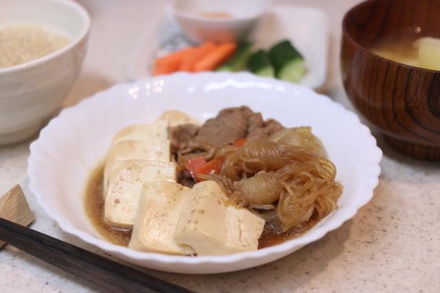 基本の肉豆腐のレシピ&作り方
