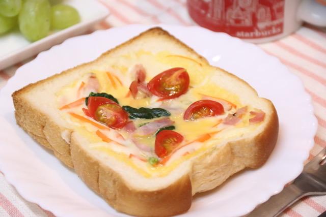 トースターで簡単!食パンキッシュの作り方