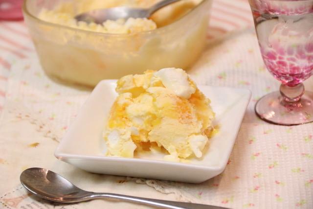 混ぜるだけ簡単☆白くまアイスのレシピ&作り方