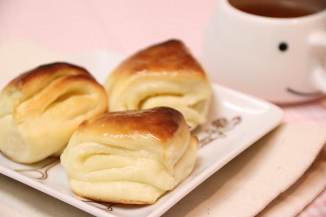 HBで簡単☆ミルクバターパンの作り方