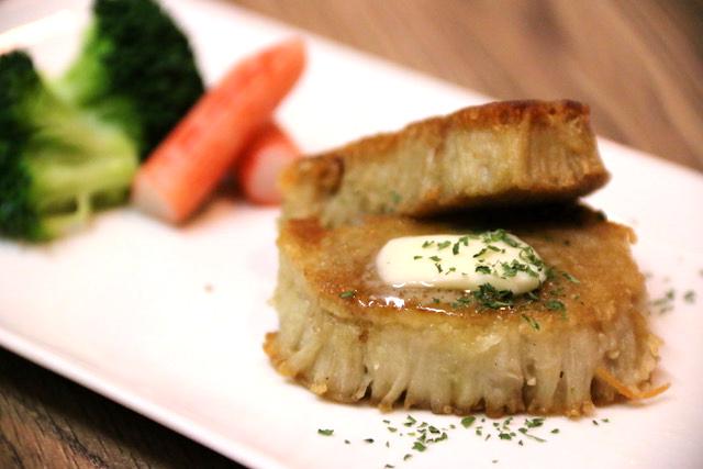 もどき料理の作り方:エノキダケのホタテステーキ風