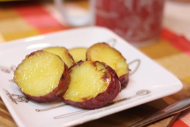 トースターで簡単おやつ☆バター風味の大学芋