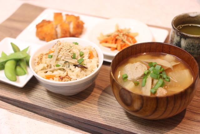 ごぼう料理とサツマイモの簡単デザート