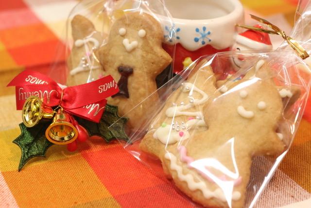 ジンジャーマンクッキーの作り方☆牛乳パックで型を自作♪