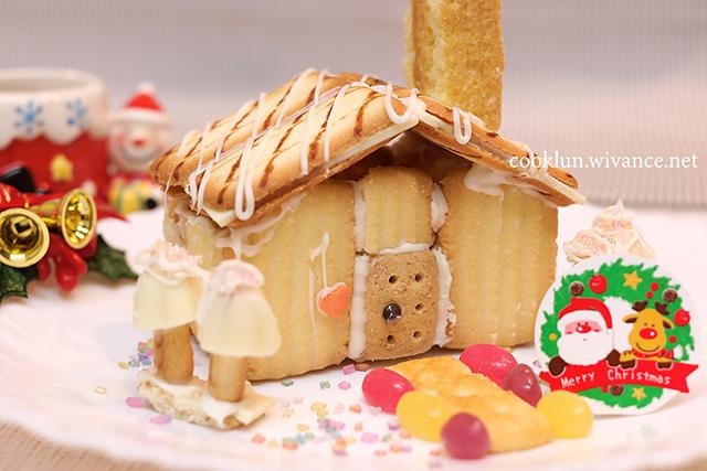 市販のクッキーで簡単☆お菓子の家の作り方&コツ
