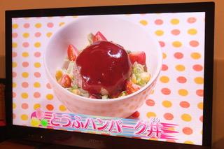 豆腐ハンバーグ丼[2020.3.25]